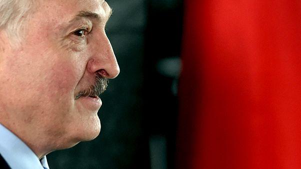 Le président sortant Alexandre Loukachenko, donné gagnant du scrutin.