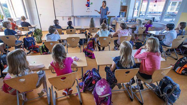 alunni tedeschi in classe
