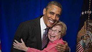 Dr. Ruth com Barack Obama