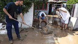 Al menos siete muertos en unas trágicas inundaciones en la isla griega de Eúbea