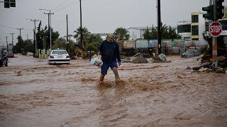 Sete mortos em inundações na Grécia