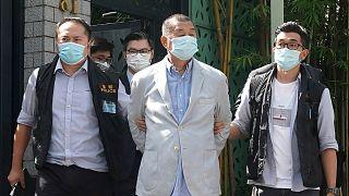 Hong Konglu medya patronu Jimmy Lai, gözaltına alındı