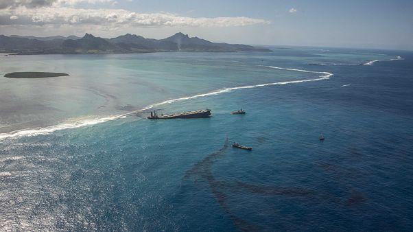 Szakértőket küld Mauritiusra Japán a megfeneklett tanker miatt
