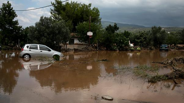 Greece Evoia Floods