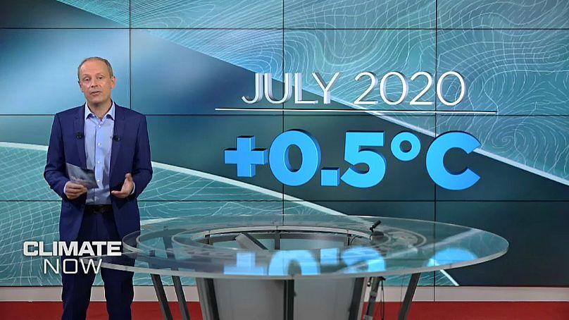 يورونيوز / كوبرنيكوس خدمة تغير المناخ التي تنفذها ECMWF