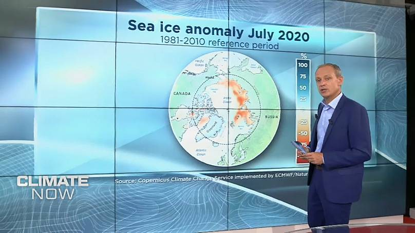 يورونيوز / كوبرنيوس خدمة تغير المناخ التي تنفذها ECMWF
