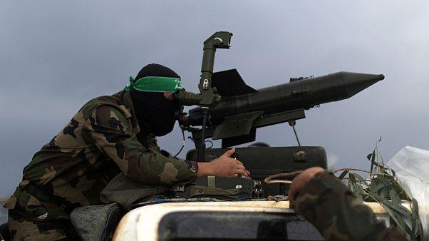 ناشط من كتائب عز الدين القسام، مدينة غزة، 14 ديسمبر 2014