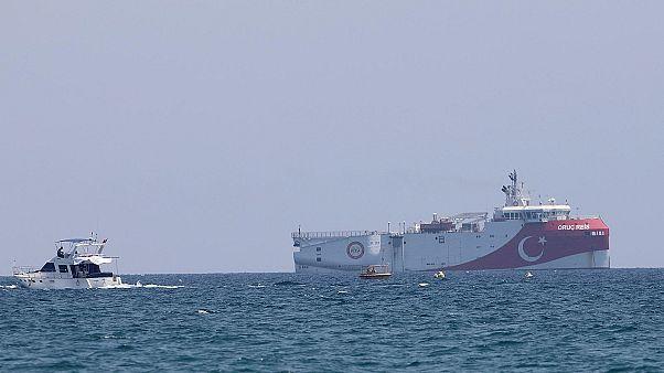 """السفينة البحثية التركية """"أوريك ريس"""""""