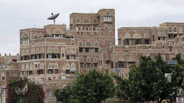 A view of the old building Sanaa