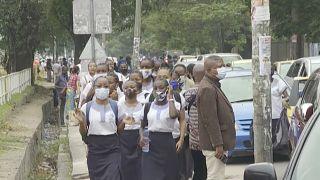 Rentrée scolaire partielle en République Démocratique du Congo