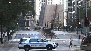 Chicago'da merkezi bölge polis tarafından kapatıldı