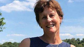 هيدويغ والتمانز موليير، زوجة السفير الهولندي في لبنان