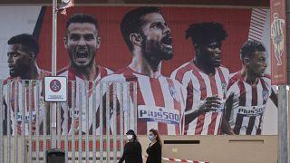 Covid-19 desfalca o Atlético de Madrid na fase final da Liga dos Campeões