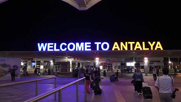 Aeroporto de Antália, Turquia