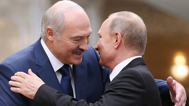 پیام تبریک پوتین به رئیس جمهوری منتخب بلاروس