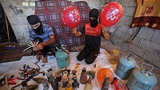 حملات با بالنهای انفجاری
