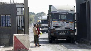 İsrail ile Gazze arasındaki Kerem Ebu Salim (Kerem Shalom) sınır kapısı