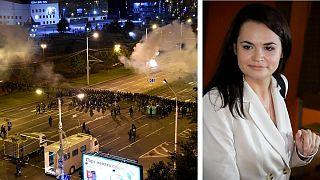 دومین شب اعتراضها در بلاروس