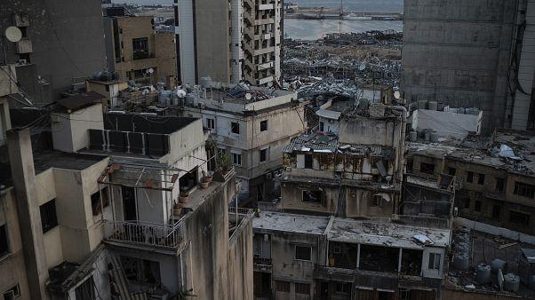 Zerstörungen durch die Explosionen in Beirut