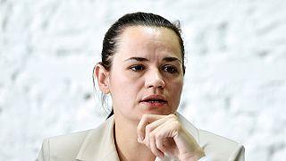 Belaruslu muhalif siyasetçi Svetlana Tikhanovskaya