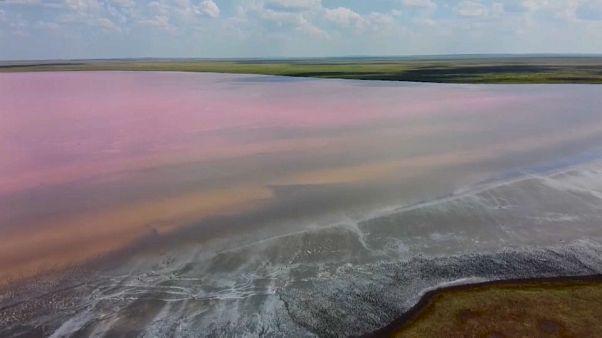 Эковандализм на Кобейтузе: грязь из розового озера продают как лекарство от COVID-19