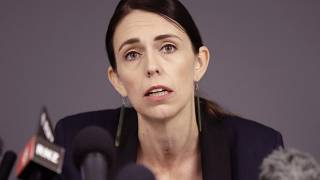 FILE - In this Dec. 10, 2019, file photo, New Zealand Prime Minister Jacinda Ardern holds a press conference in Whakatane, New Zealand.