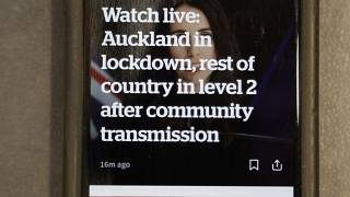 Virus Outbreak New Zealand