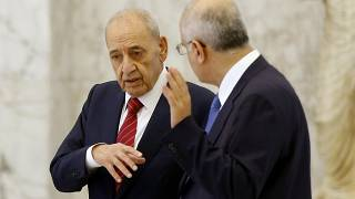 Nabih Berri, presidente del parlamento libanese