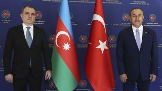 وزیران خارجهٔ آذربایجان و ارمنستان