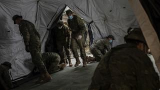 El Ejército español colabora en la lucha contra el coronavirus