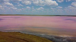 Lago Rosa - Cazaquistão