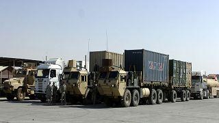 Irak'ta malzeme tırları, arşiv