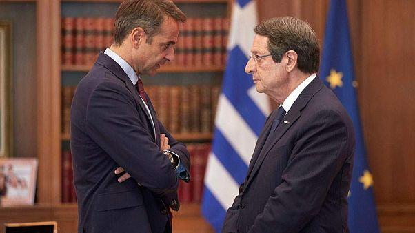 Κυριάκος Μητσοτάκης-Νίκος Αναστασιάδης