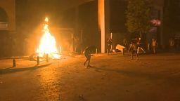 Kedd este is folytatódtak a tüntetések Bejrútban