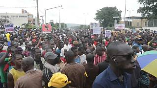 Malians take to streets of Barnarko again to protest against President Keita