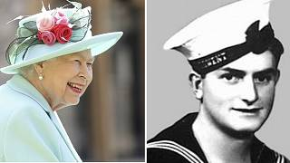 Queen Elizabeth (left) has approved the Victoria Cross for Teddy Sheean (right)