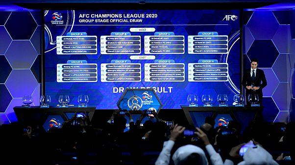 من مؤتمر قرعة المنتخبات الآسيوية لكأس العالم