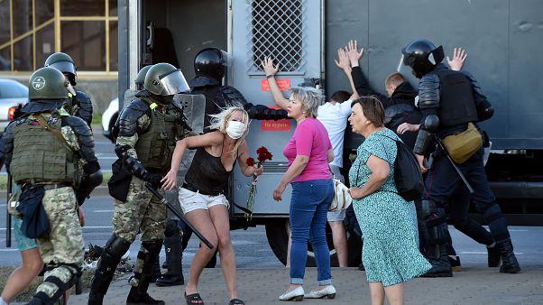 Λευκορωσία: Συλλήψεις και πάλι διαδηλωτών