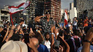 Ενός λεπτού σιγή την ώρα που η Βηρυτός μετατράπηκε σε κόλαση πριν από μία εβδομάδα