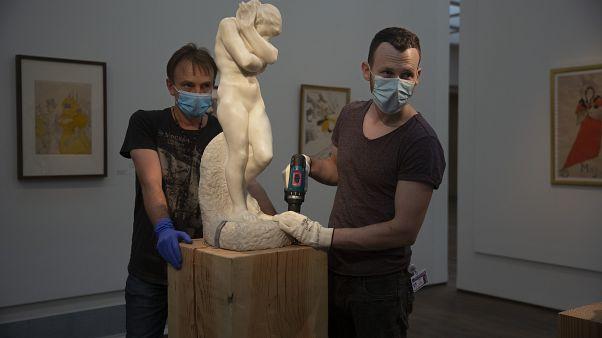 """Eve"", famosa opera di Auguste Rodin."