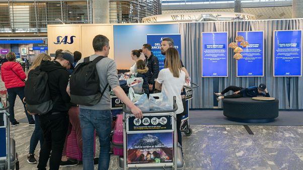 FILE PHOTO OSLO AIRPORT