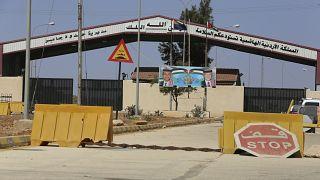 الجانب الأردني من معبر جابر الحدودي مع سوريا