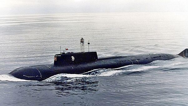 Il Kursk in un'immagine d'archivio