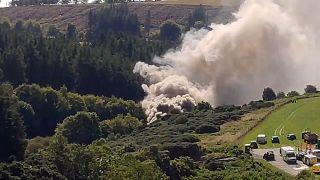 İskoçya'da tren kazası sonucu en az 3 kişi hayatını kaybetti.