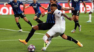Paris Saint-Germain terminha sonho do Atalanta de forma cruel