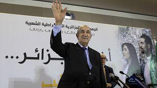 الرئيس الجزائري عبد المجيد تبون في صورة من الأرشيف