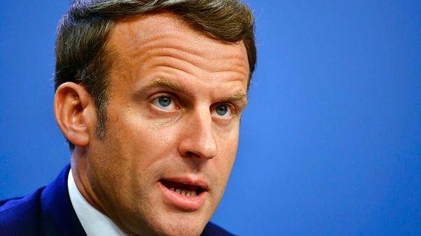 Fransa Cumhurbaşkanı Emmanuel Macron.