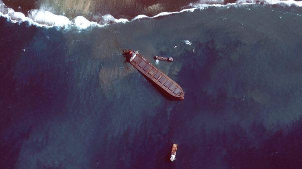 Το φορτηγό πλοίο MV Wakashio