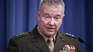 General Frank McKenzie said 'we should all be concerned' about the possible rise of Islamic State