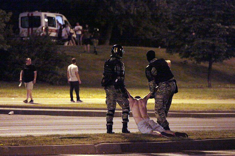 SIARHEI LESKIEC/AFP